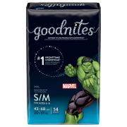 Huggies GoodNites Briefs Small/Medium Boy Jumbo