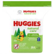 Huggies Natural Care Fragrance Free Baby Wipes Refill