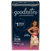 Huggies GoodNites Briefs Small/Medium Girl Jumbo