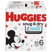 Huggies Snug & Dry Size 6 Giga Pack