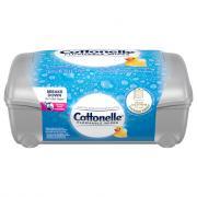 Cottonelle FreshCare Flushable Cleansing Cloths Tub