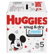 Huggies Snug & Dry Size 5 Giga Pack