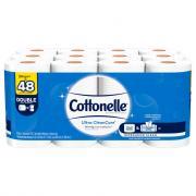 Cottonelle Clean Care Double Roll Bath Tissue