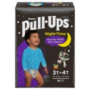 Pull-Ups Nighttime Boy 3T-4T Jumbo Diapers