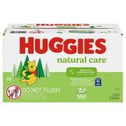 Huggies Natural Care Fragrance Free Wipes Refill