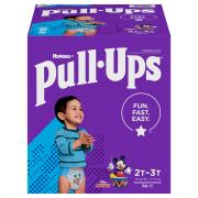 Pull-Ups Learning Designs Boys Size 2T-3T Training Pants