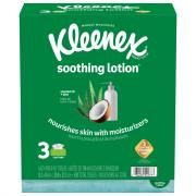 Kleenex Soothing Lotion Facial Tissues
