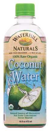 Waterhill Naturals 100% Raw Organic Coconut Water