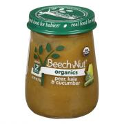 Beech-Nut Just Organic Stage 2 Pear, Kale and Cucumber