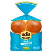Udi's Gluten Free Classic Hamburger Buns