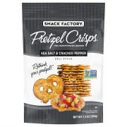 Snack Factory Sea Salt & Cracked Pepper Pretzel Crisps