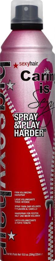 Big Sexy Spray & Play Firm Hairspray
