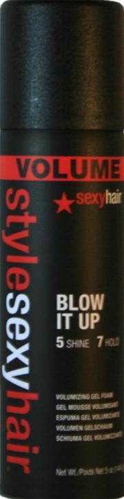 Style Sexy Hair Volume Blow It Up Volumizing Gel Foam