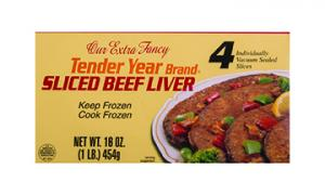 Continental Sliced Beef Liver
