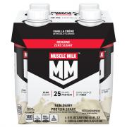 Muscle Milk Ready to Drink Vanilla Creme Protein Shake
