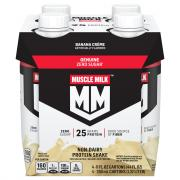 Muscle Milk Ready to Drink Banana Creme Protein Shake