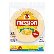 Mission Extra Thin Yellow Corn Tortillas