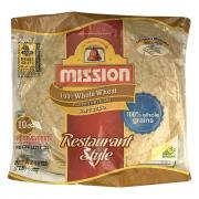 Mission 100% Whole Wheat Soft Taco Flour Tortillas