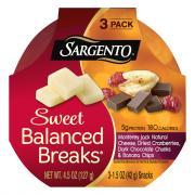 Sargento Balanced Breaks Monterey Jack Cheese, Banana Chips