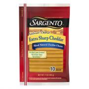 Sargento Extra Sharp Cheddar Sliced Cheese
