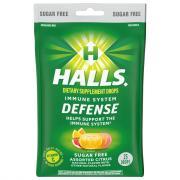 Halls Defense Sugar Free Assorted Citrus Drops