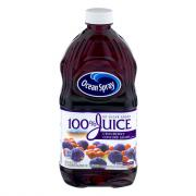Ocean Spray 100% Cranberry Concord Grape Juice Blend