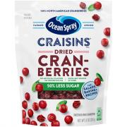 Ocean Spray Reduced Sugar Craisins