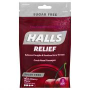 Halls Defense Sugar Free Black Cherry Drops