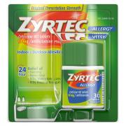 Zyrtec Adult 10 mg Tablets