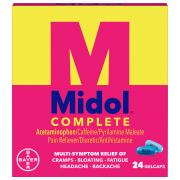 Midol Maximum Strength Menstrual Formula Gelcaps