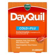 Vicks DayQuil Cold & Flu LiquiCaps