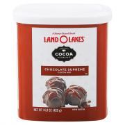 Land O Lakes Chocolate Supreme Cocoa Classics Canister