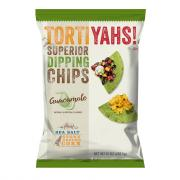 Tortiyahs! Guacamole Sea Salt Stone Ground Corn Chips