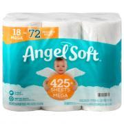 Angel Soft Mega Rolls Bath Tissue