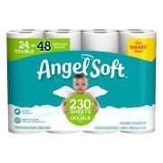 Angel Soft 24 Double Roll Bath Tissue