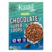Kashi Kids Super Food Loops Chocolate