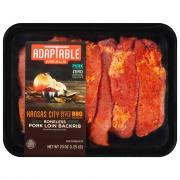AdapTable Meals Kansas City BBQ Boneless Pork Loin Back Ribs