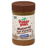 Peter Pan Just Peanuts Crunchy Peanut Butter
