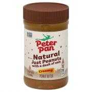 Peter Pan Just Peanuts Creamy Peanut Butter