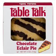 Table Talk Chocolate Eclair Pie