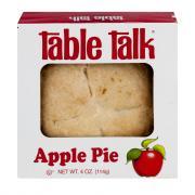 Table Talk Apple Pie