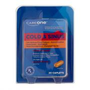 CareOne Cold & Sinus Maximum Strength Caplets
