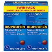 CareOne Ibruprofen Tablets 200 mg
