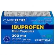 CareOne Ibuprofen Mini Softgel Capsules 200mg