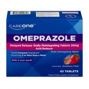 CareOne Omeprazole Strawberry Orally Disintegrating Tablets