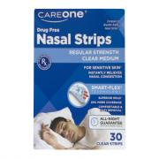 CareOne Nasal Strips Medium Clear