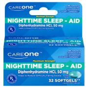 CareOne Sleep-Aid Softgels 200 mg