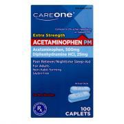 CareOne Acetaminophen PM Caps