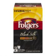 Folgers Black Silk Coffee K-Cups