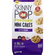 Skinny Pop Popcorn Mini Cakes Salted Caramel
